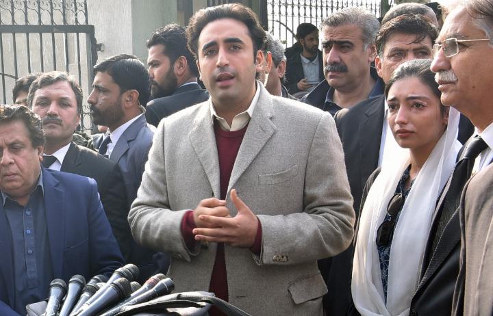 پاکستان پیپلزپارٹی کے چیئر مین بلاول بھٹو زرداری نے کہا ہے کہ حکومت نے آج کا اجلاس آرڈیننس پاس کروانے کے لئے وقت سے پہلے بلایا گیا ہے