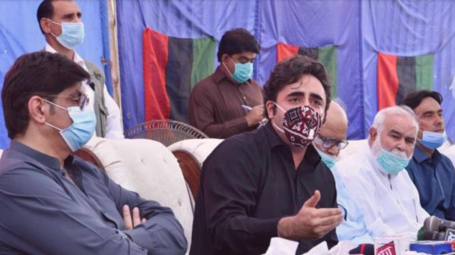 پاکستان پیپلزپارٹی کے چیئرمین بلاول بھٹو زرداری کا تحریک بحالی جمہوریت کے 16 شہداء کو خراج عقیدت