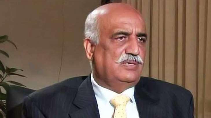 پاکستان پیپلزپارٹی نے سابق قائد حزب اختلاف سید خورشید احمد شاہ کو ایک سال سے زیادہ عرصے سے منگھڑت الزامات کے تحت قید میں رکھنے کی سخت مذمت کی ہے